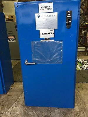 Magnatex 240vac 1 phase 225amp fully automatic  transfer switch