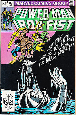 Powerman And Iron Fist 87 - Moon Knight App (Bronze Age 1982) - 9.0