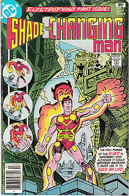 SHADE THE CHANGING MAN 1 - 1st APP SHADE (BRONZE AGE 1977) - 5.0