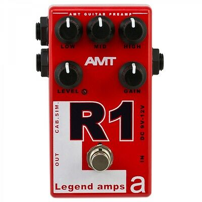 AMT Electronics R1 (Mesa) - guitar preamp (distortion/overdrive) effect pedal