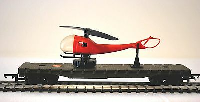 Hornby Triang R128 Battle Space Helicopter Launching Car