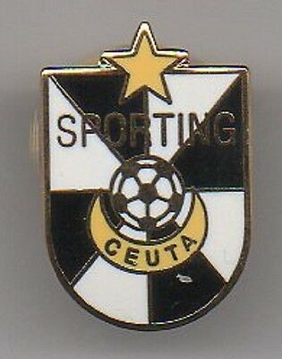 Insignia Pin Badge Futbol Sporting Ceuta