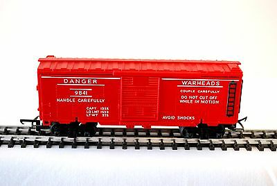 Hornby Triang R249 Battle Space Exploding Ammo Car Rare Red Color