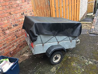 Caddy Car Trailer 4' x 3' with added height