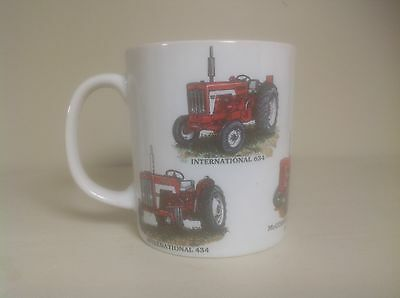 International  Tractor With 6 Models On Chip Resisant Porcelian