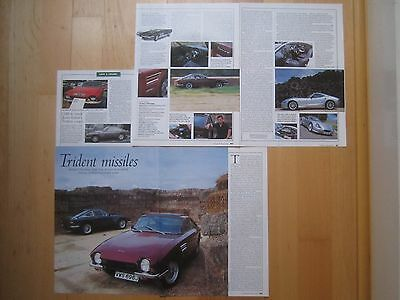 TVR Chimaera Buying Guide, Cerbera Tuscan 1967 Griffith Trident Clipper Reports