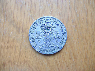 George Vi Florin (Two Shillings) 1947