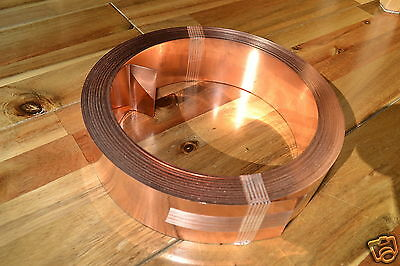 Roofing Copper Strip Coil Roof Moss Killer 50mm x 0.6mm x 5M