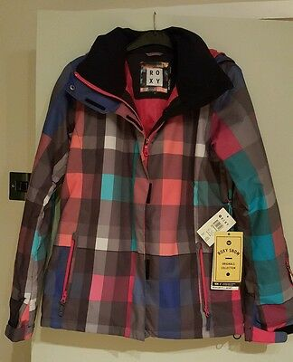 Roxy snow jacket, new with tags.