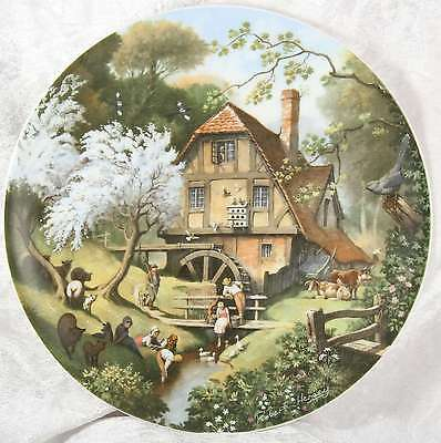 The Old Mill by robert hersey from Tales of a country village coalport