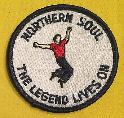 Northern Soul - The Legend Lives On - Sew On Patch