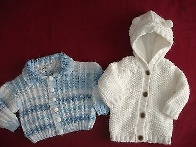 Baby Boys Knitted Cardigans Size 6-9 Months