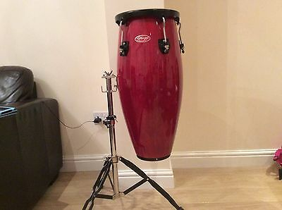 Stagg  conga drum with double stand