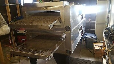 Double pizza conveyor oven Qmatic q80