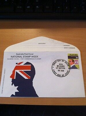 FIRST DAY COVER , Australia - (1976) - NATIONAL STAMP WEEK