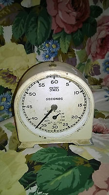 Vintage Smiths Seconds and Minutes Timer Counter