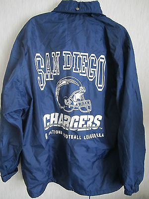 Vintage San Diego Chargers Nfl Jacket Coat American Football League Usa Sport