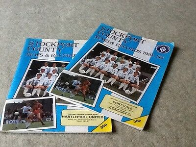Stockport County 1981-2 news and records