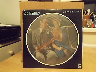 Scorpions  ‎– Lovedrive. 1979 Harvest Records LP Picture Disc. RARE!
