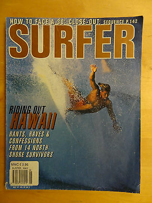 Surfer Magazine May 1997 Volume 38 Number 5 Surf Surfing Back Issue Andy Irons