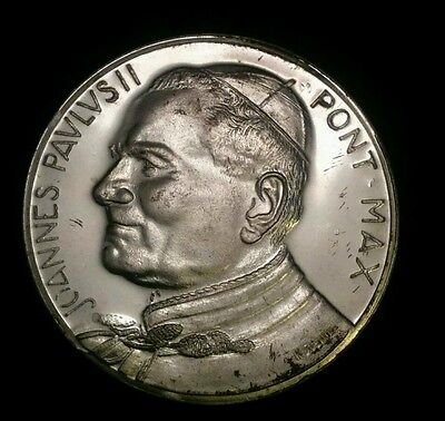 Vintage Vatican Coin Pope John Paul II Religious Collectible