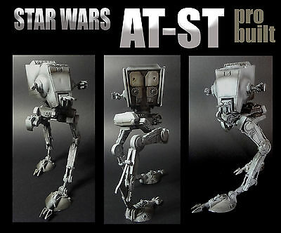 STAR WARS AT-ST PRO BUILT AND PAINTED 1/48 Scale