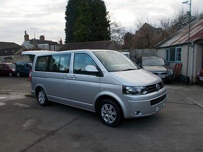 2011 Volkswagon Caravelle Se 140 Tdi Automatic Wheelchair Accessible Disabled