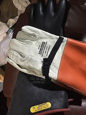 High Voltage Gloves Salisbury Size 10-10.5 Class 2 17000 NEW Size 10.5 Rubber
