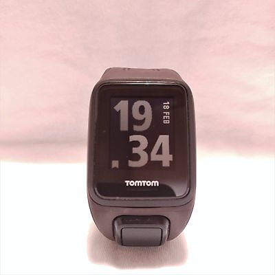 TomTom Runner 2 Cardio - GPS Activity Tracker Watch + Heart Rate - Brown Strap