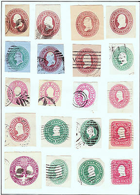 """42   """"Cut Squares"""" Great Variety """"Take a Look"""" 2 pages full !!"""