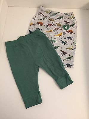 Next Dinosaur/roar Joggers 3-6 Months One Pair BNWT