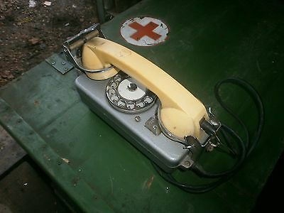 Vintage Military Naval Ship's Phone TAS-M Soviet Russian USSR