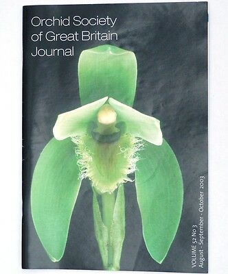 Orchid Society of Great Britain Journal Volume 52 No 3, 2003 - Zygopetalums