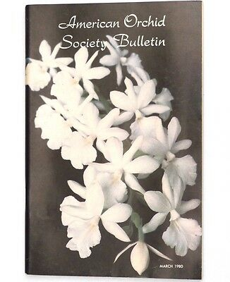 American Orchid Society Bulletin March 1980 - Paphiopedilums, Sarcoglottis