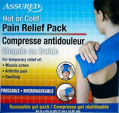 Assured Hot Or Cold Pain Relief Pack For Muscle Aches,Swelling,Arthritis Pain.