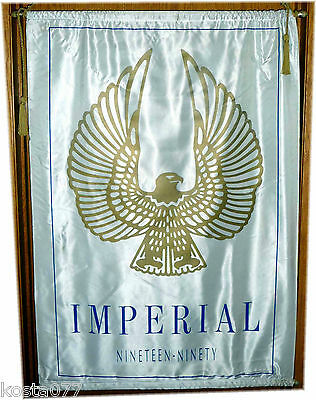 Large Advertisement Banner, Imperial Eagle, Ninenteen Ninety, 3x2ft.