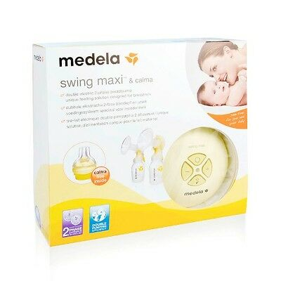 Medela Swing Maxi Double Electric Breastpump with Calma