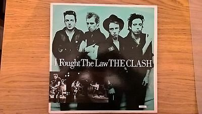 """The Clash I Thought the Law 12"""" Single"""