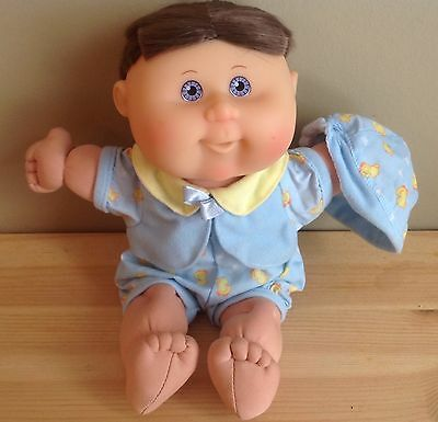 2004 Play Along Cabbage Patch Baby Boy Doll w/ original outfit, nice hair cut