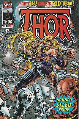 THOR Vol.1 #500 (MARVEL COMICS) 1996 DOUBLE SIZED ANNIVERSARY ISSUE