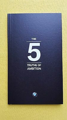 BMW 5 Series New 2017 model promo paper preview catalogue 2017 MINT RARE 530 520