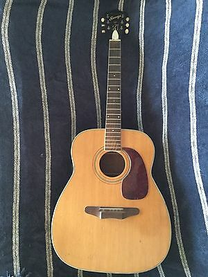 Vintage Harmony Sovereign Jumbo Acoustic Guitar~Jimmy Page!~Video!