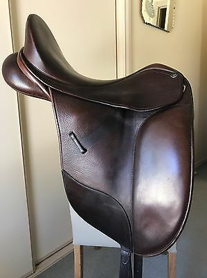 Brown Bates Isabell Dressage Show Saddle