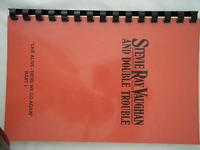 Stevie Ray Vaughan 1988 Tour Itinerary Live Alive Here We Go Again Part 1
