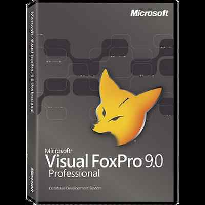 Visual FoxPro Professional 9.0 + Upgrades - Free Fast Shipping !!