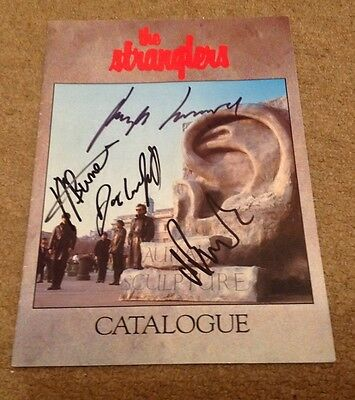 Stranglers  -  1985  Fully Signed Tour Programme    -  Authentic