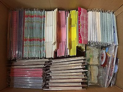 Job Lot Of 280 NEW Cupcake Muffin Food Gift Boxes With Windows - See Description