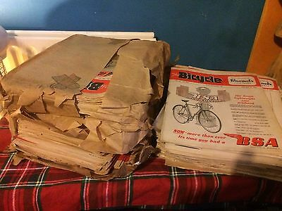 """""""The Bicycle"""" magazine. Collection of 150 issues 1948-1950 Long complete runs."""
