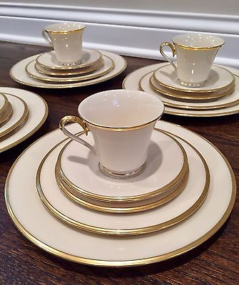 20 Piece Set of Lenox Eternal Dimension Collection (Service for 4)