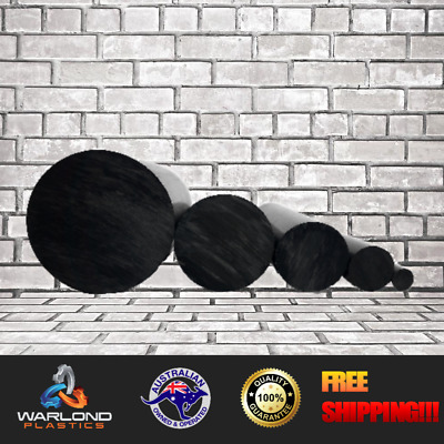 HDPE ROD BLACK (100mm) DIAMETER x 495mm LONG – FREE DELIVERY!!!
